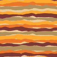 Tribal etnisk sömlös mönster med ränder. Handgjord ffect. vektor