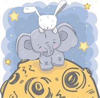 süßer kleiner Elefant