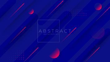 Minimal geometrisk Trendy gradient former sammansättning. bakgrund Vektor illustration.