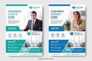 corporate business flyer vektor