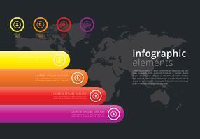 Infographik 3D-Elemente