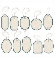 Tappning stilförsäljning Taggar Design vektor