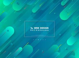 Abstrakt modern webbdesign av minimal geometrisk levande färgstark bakgrund. illustration vektor eps10