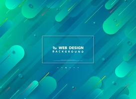 Abstraktes modernes Webseiten-Design des minimalen geometrischen vibrierenden bunten Hintergrundes. Abbildung Vektor eps10
