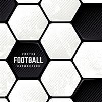 Grunge Fußball-Oberflächenhintergrund