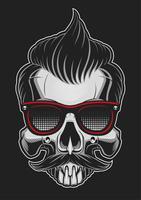 Hipster-skalle