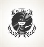 Retro vinyl skivor