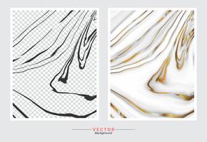 Marmor mit goldenem Beschaffenheitshintergrund. vektor