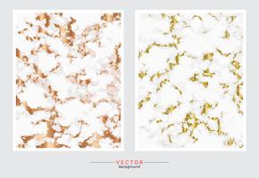 Gold Marmor Textur Hintergrund. vektor