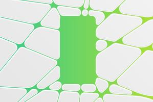 Abstraktes buntes Schablonenmuster, Vektorillustration