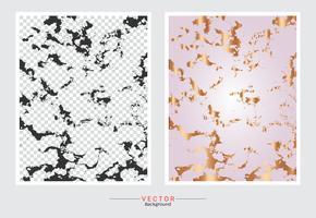 Rose Gold Marmor Textur Hintergrund. vektor