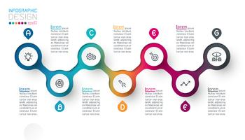 Cirkeletiketten infografisk med steg för steg.