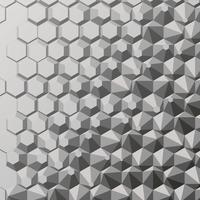 Polygon abstrakten Hintergrund vektor
