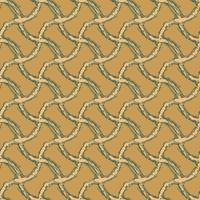 Nahtloses Muster mit braunem Ton. vektor