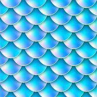 Holografisk sjöjungfruhalsbakgrund vektor