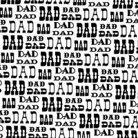 schwarz weiß Papa Vektor Hintergrundmuster