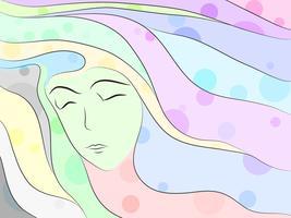 Traum abstrakt vektor