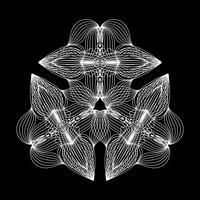 Weiße Linie abstrakt vektor