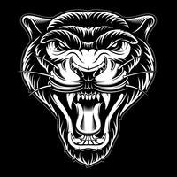 Vektorabbildung des Panthers. vektor