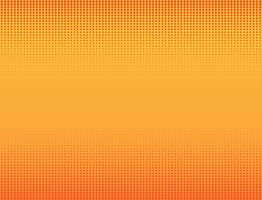Vektorillustration des orange Halbtonfahnenhintergrundes