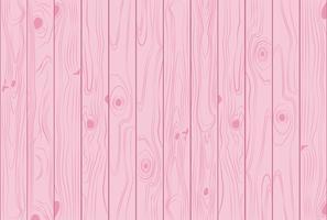 Hellrosa Pastellhintergrund der hölzernen Beschaffenheit färbt - Vector Illustration