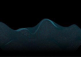 Abstrakter flüssiger Punkthintergrund vektor
