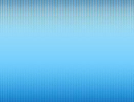 Vektorillustration des blauen Halbtonfahnenhintergrundes