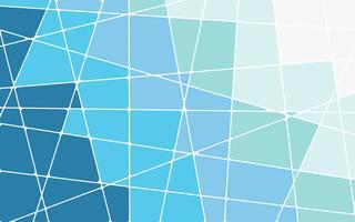 Abstrakter blauer geometrischer Mosaikhintergrund vektor