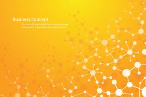 Wissenschaftlicher Hintergrund, molekularer Hintergrund Genetische und chemische Verbindungen Medizintechnik oder Wissenschaft. Konzept für Ihr Design.