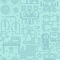 Business sömlös vektor mönster