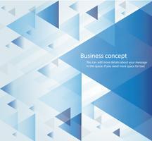 abstrakte blaue Dreieckhintergrundtapeten-Vektorillustration