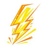 Blitzsymbol vektor