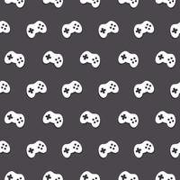 Vektor-nahtloses Gamecontroller-Muster