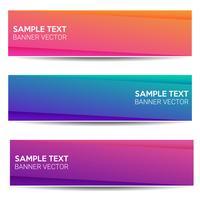 Abstrakter schöner Fahnenfarbsteigungshintergrund vektor