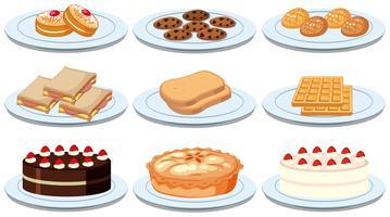 Sats av olika livsmedel