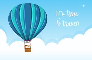 Es ist Zeit zu reisen