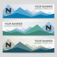 Abstrakt vacker banner mall bakgrund, Vektor illustration, Design för företagspresentation