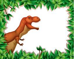 Dinosaurier in der Naturszene vektor