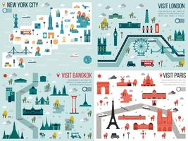 Große Stadt vektor