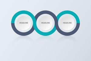 Infographik Konzept. Flussdiagramm-Design. Geschäftskonzept mit vier Optionen, Schritten oder Prozessen. vektor