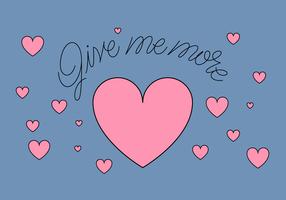 Liebe geben vektor