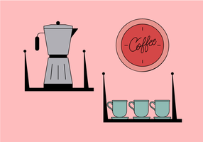 Kaffe vektor