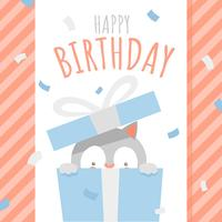 Alles- Gute zum Geburtstagtier Cat Surprise Box Greeting