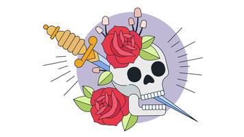 död riddare vektor