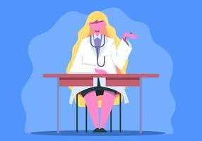 Ärztin als Gesundheitscharakter