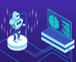 Künstliche Intelligenz vektor
