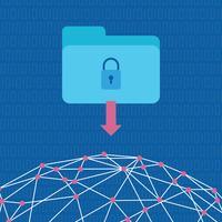 Sicherheit im Web vektor