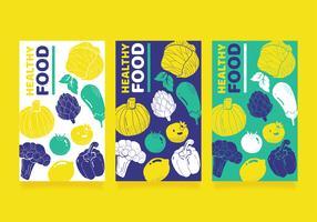 Hälsosam mat vektor design