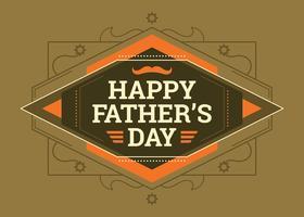 Grattis på fader dagkort