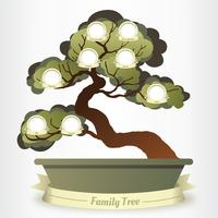 Familjeträd Vector Design